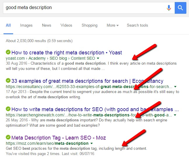 Power Blogging: In Post SEO for A-Game Search Traffic